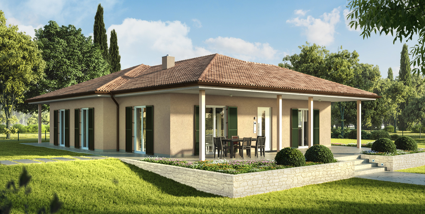 Casa In Legno In Stile Classic Carima Wolf Haus