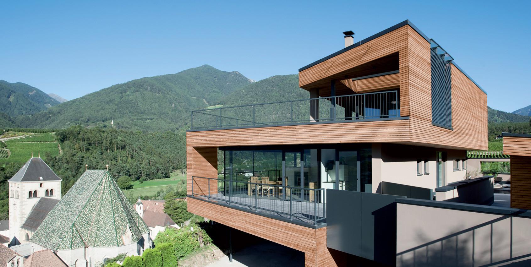 Case A Due Piani spaziosa villa in legno unifamiliare su due piani - wolf haus