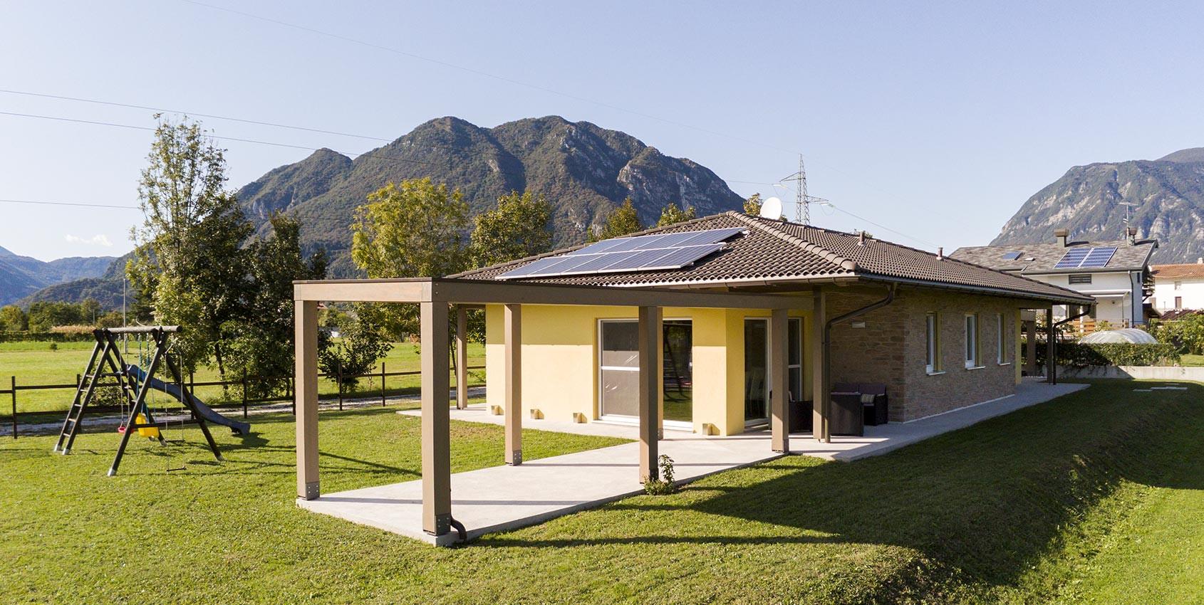 Wolf Haus Reggio Emilia casa unifamiliare in legno in provincia di udine - wolf haus