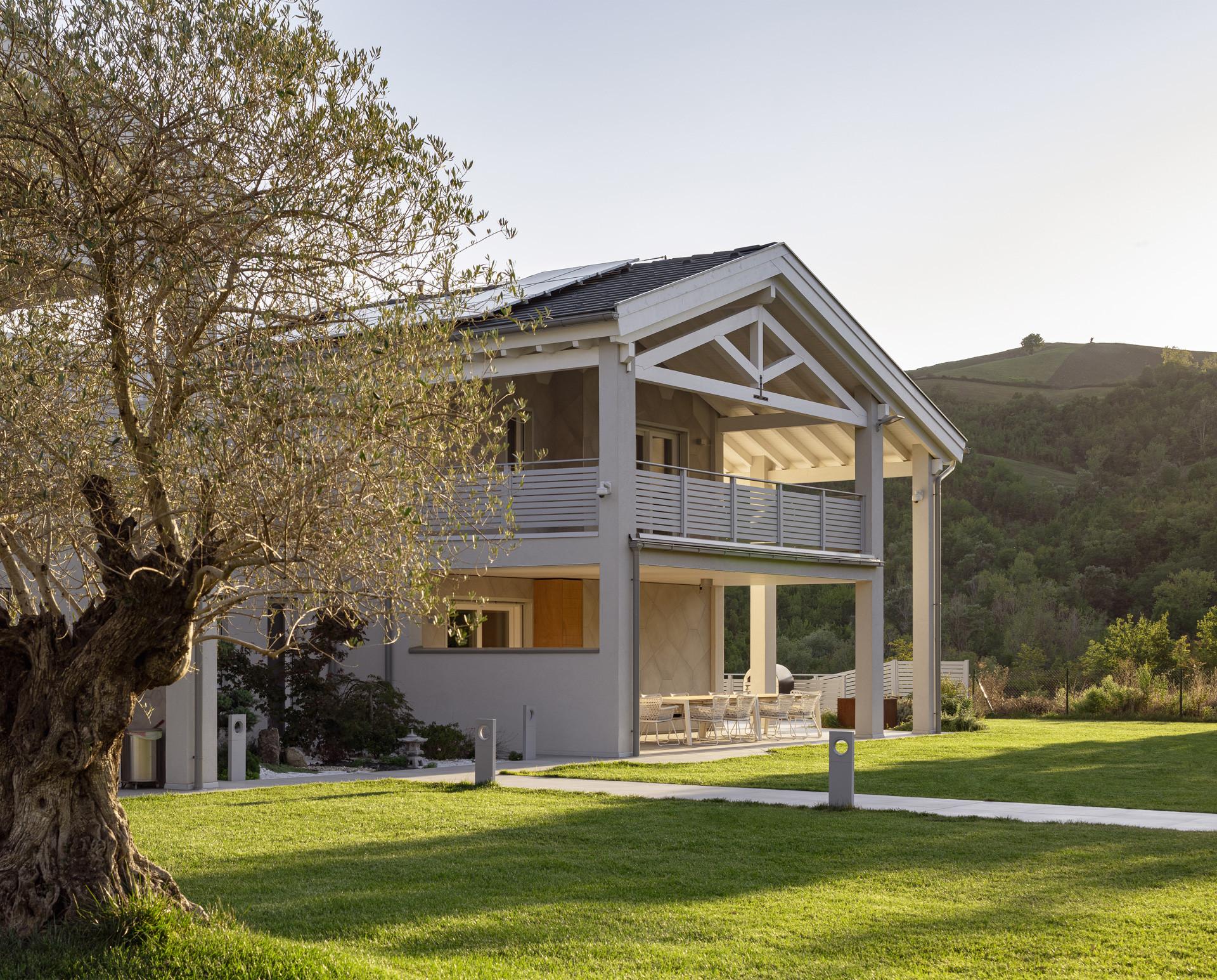 Wolf Haus Reggio Emilia villa in legno bifamiliare a reggio emilia -wolf haus