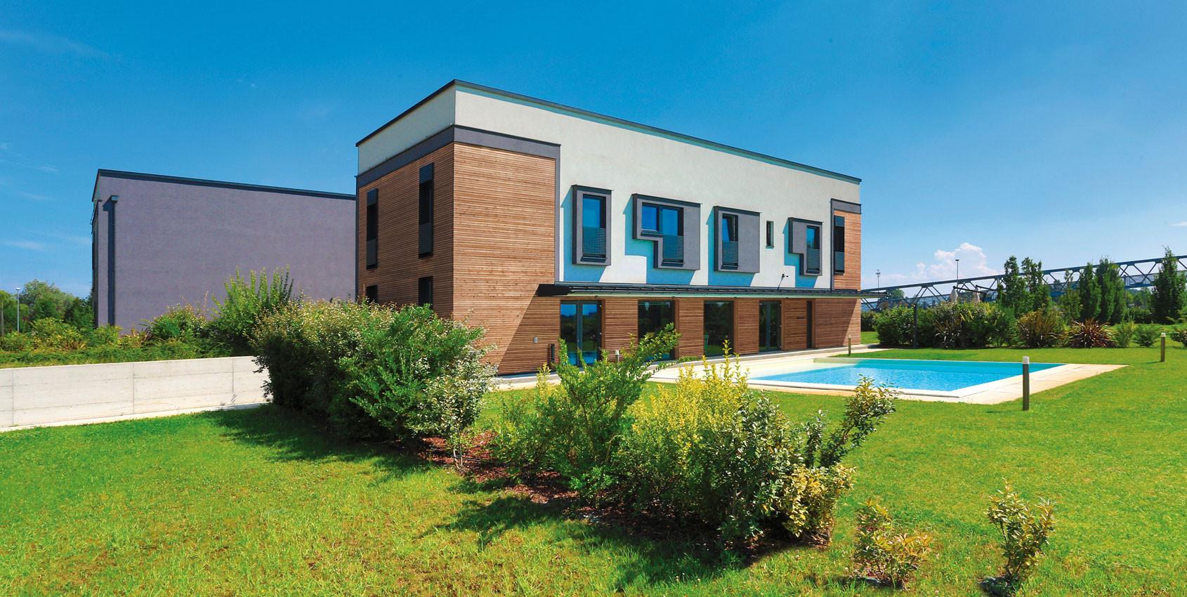 Wolf Haus Reggio Emilia uffici prefabbricati in legno | wolfhaus webranking correggio