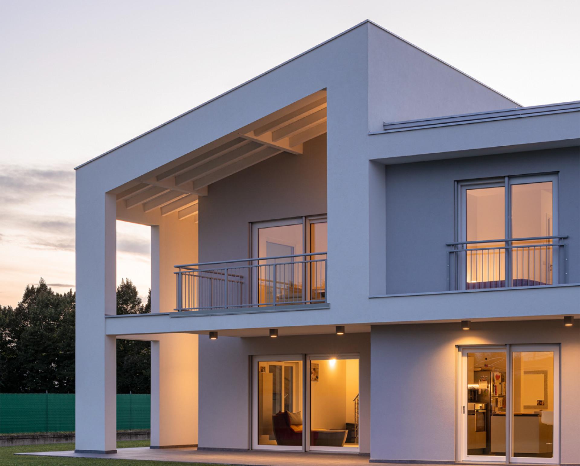 Wolf Haus Reggio Emilia casa in legno unifamiliare in provincia di reggio emilia